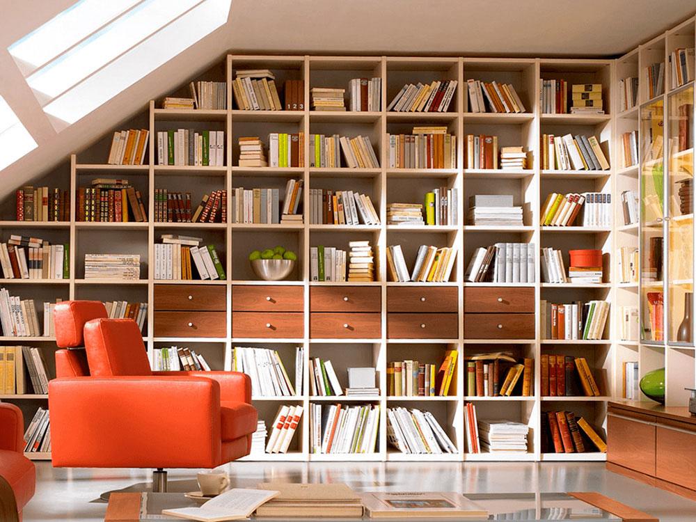Carpinterios Artesanos Arquitectura Interior - Bibliotecas-de-madera