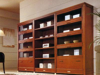 Madera noruega carpinteros artesanos muebles de madera for Muebles bibliotecas para living